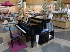 道の駅まるせっぷ 木芸館のグランドピアノ