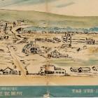 北の王鉱業所絵はがき全景
